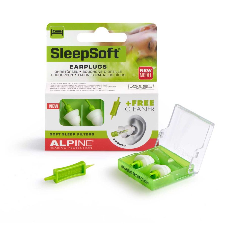 Sleepsoft mini grip alpine hearing protection